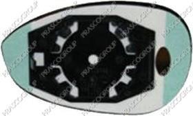 Prasco LA4027523 - Cristal de espejo, retrovisor exterior