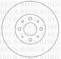 Borg & Beck BBD4055 - Disco de freno