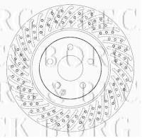Borg & Beck BBD4628 - Disco de freno