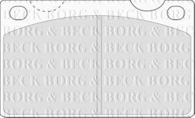Borg & Beck BBP1099 - Juego de pastillas de freno