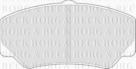 Borg & Beck BBP1110 - Juego de pastillas de freno