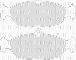 Borg & Beck BBP1424 - Juego de pastillas de freno