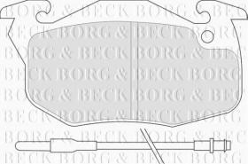 Borg & Beck BBP1425 - Juego de pastillas de freno
