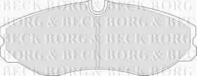 Borg & Beck BBP1436 - Juego de pastillas de freno
