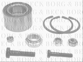 Borg & Beck BWK040 - Juego de cojinete de rueda