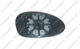Prasco BM1207502 - Cristal de espejo, retrovisor exterior