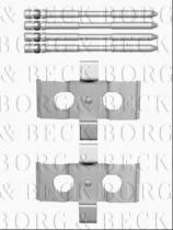 Borg & Beck BBK1519 - Kit de accesorios, pastillas de frenos