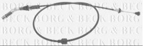 Borg & Beck BKA1005 - Cable del acelerador