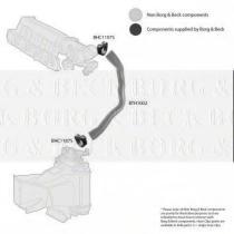 Borg & Beck BTH1002 - Tubo flexible de aire de sobrealimentación