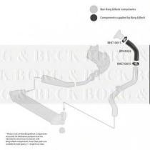 Borg & Beck BTH1022 - Tubo flexible de aire de sobrealimentación