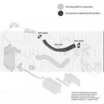 Borg & Beck BTH1049 - Tubo flexible de aire de sobrealimentación