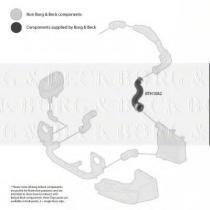 Borg & Beck BTH1082 - Tubo flexible de aire de sobrealimentación