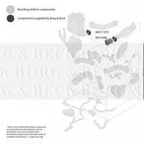 Borg & Beck BTH1096 - Tubo flexible de aire de sobrealimentación