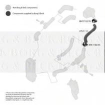 Borg & Beck BTH1112 - Tubo flexible de aire de sobrealimentación