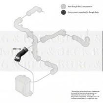 Borg & Beck BTH1132 - Tubo flexible de aire de sobrealimentación