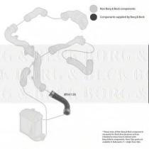 Borg & Beck BTH1135 - Tubo flexible de aire de sobrealimentación