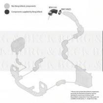 Borg & Beck BTH1161 - Tubo flexible de aire de sobrealimentación