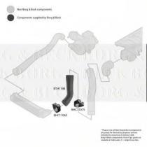 Borg & Beck BTH1188 - Tubo flexible de aire de sobrealimentación