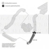 Borg & Beck BTH1189 - Tubo flexible de aire de sobrealimentación