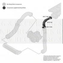 Borg & Beck BTH1190 - Tubo flexible de aire de sobrealimentación
