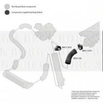 Borg & Beck BTH1192 - Tubo flexible de aire de sobrealimentación