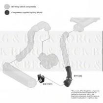 Borg & Beck BTH1202 - Tubo flexible de aire de sobrealimentación