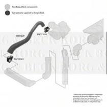 Borg & Beck BTH1209 - Tubo flexible de aire de sobrealimentación