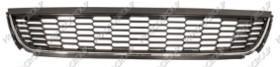 Prasco VW0232130 - REJILLA CENTRAL P.CHOQUES-NEGRA MOLDURA CROMADA-MOD. HIGHLIN